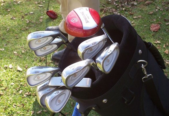 golf bag items